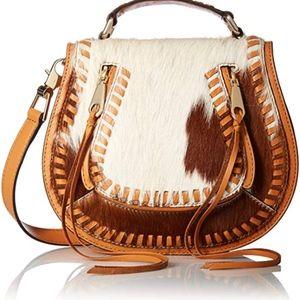 Rebecca Minkoff Haricalf small vanity saddle bag